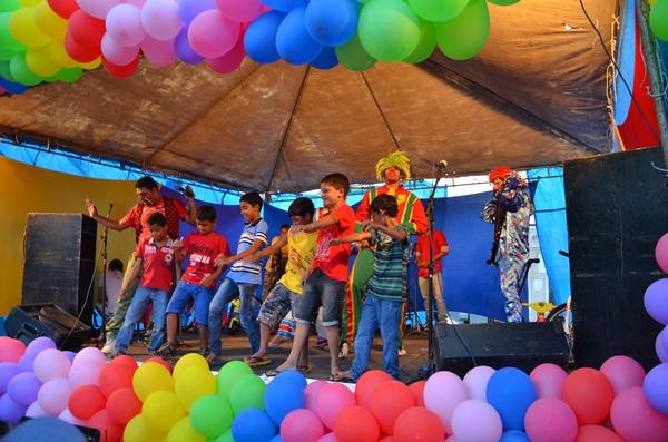Evento Criança Feliz em Ouro Velho PB