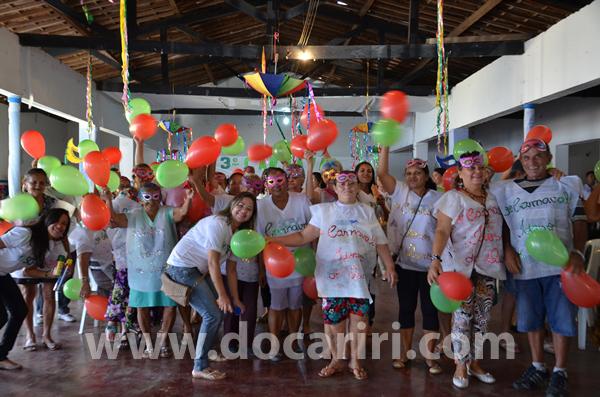 3º ano do carnaval do grupo dos Idosos de Ouro Velho PB