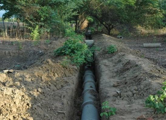 Prefeitura de Ouro Velho conclui obra de construção da rede de esgoto