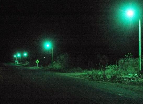 Prefeitura de Ouro Velho inicia melhoria da iluminação na saída da cidade