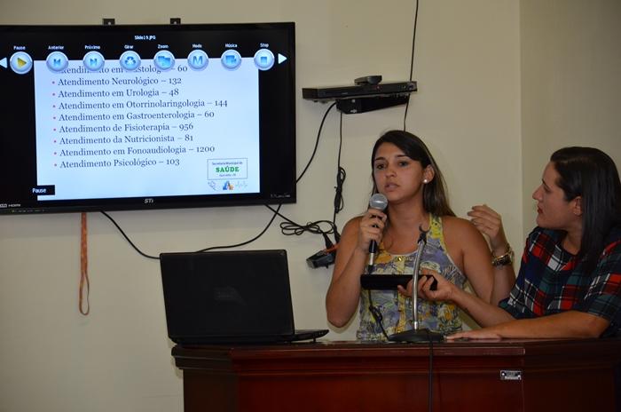 1ª Audiência Pública 2015, da Secretaria Municipal de Saúde de Ouro Velho PB
