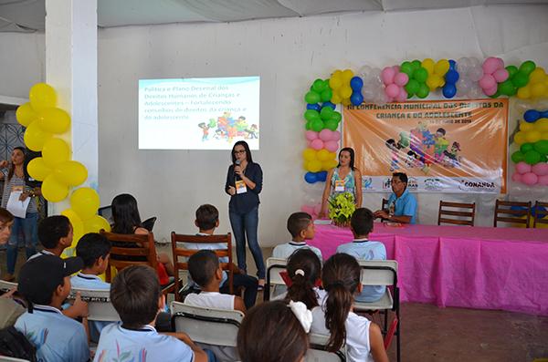 Ouro Velho PB, realiza III Conferência dos Direitos das Crianças e dos Adolescentes