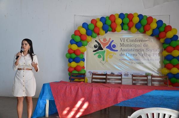 Ouro Velho realizou a VI Conferência Municipal de Assistência Social