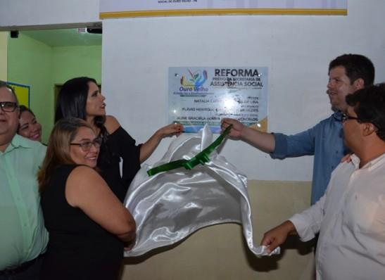 Ouro Velho inaugura novas sedes da Secretaria de Ação Social e Bolsa Família