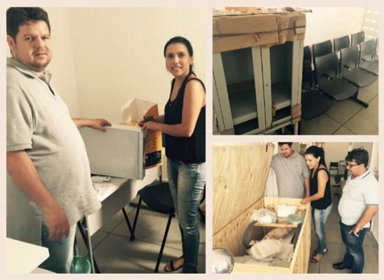 Prefeitura de Ouro Velho recebe equipamentos para unidade de saúde