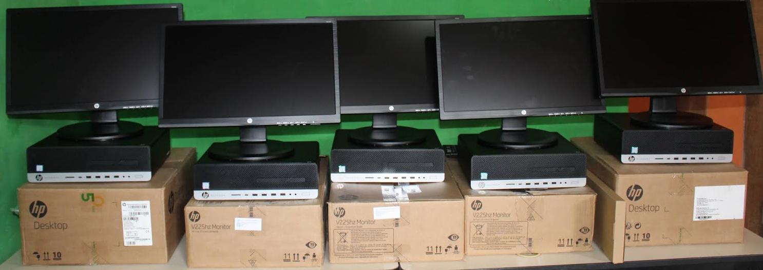Prefeitura de Ouro Velho adquire mais 05 computadores para o Conselho Tutelar