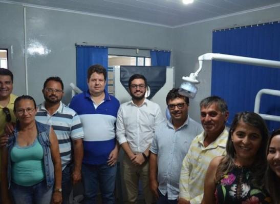 Prefeitura de Ouro Velho entrega mais um consultório odontológico a população