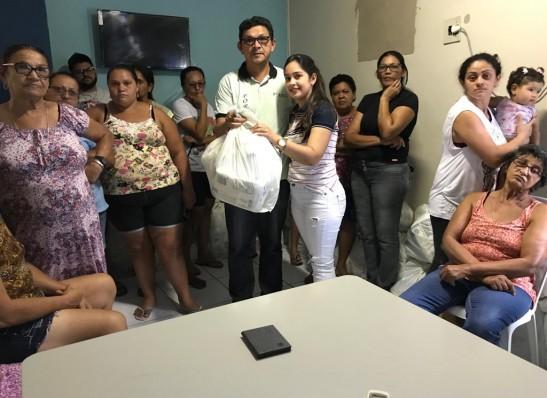 Secretaria de Saúde de Ouro Velho realiza entrega de Fraldas Geriátricas