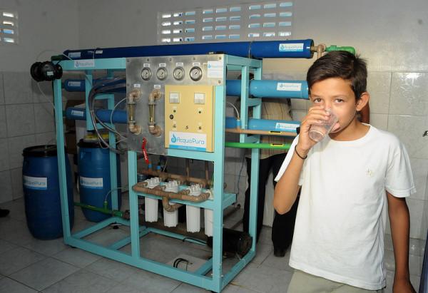 Prefeita Natália Lira assina ordem de serviço para a construção de dois dessalinizadores