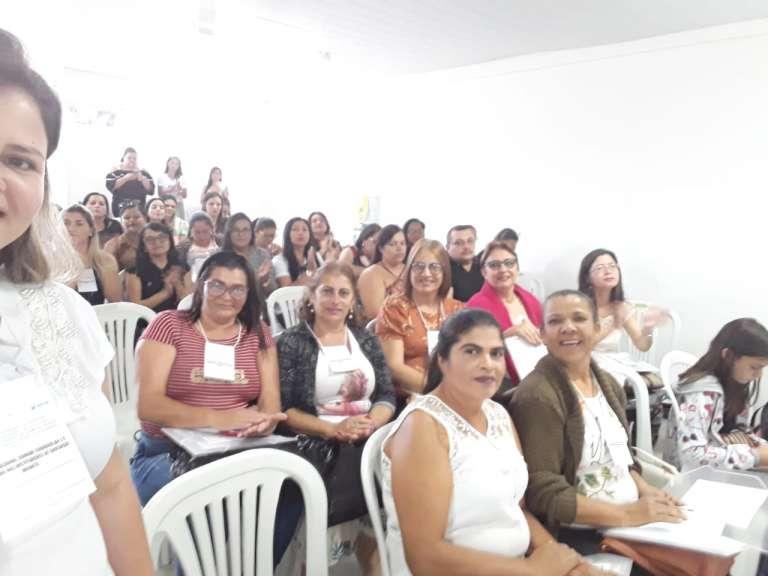 Professores da rede municipal de Ouro Velho participam de encontro promovido pela a UFCG