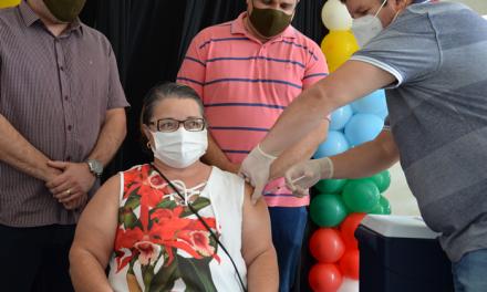 Ouro Velho começa vacinação contra Covid-19