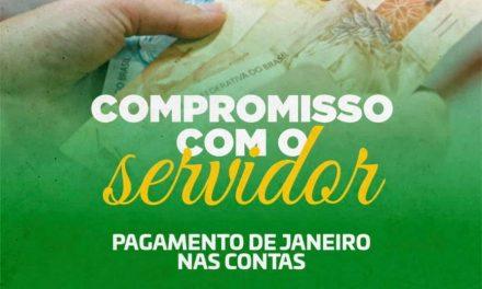 Prefeitura de Ouro Velho antecipa pagamento de servidores municipais
