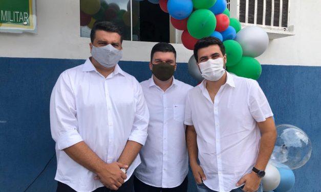 100 dias de gestão: Wilson Filho parabeniza Dr. Augusto por aprovação de 95,2% em Ouro Velho