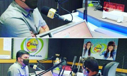 OURO VELHO: Dr Augusto Valadares faz balanço dos 100 dias de gestão em entrevista a Rádio pernambucana