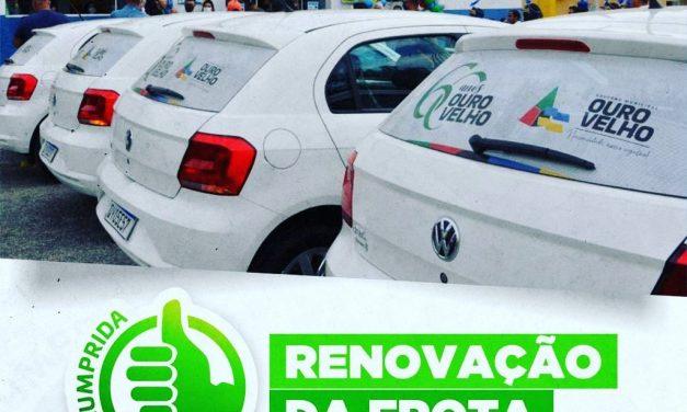 Prefeito de Ouro Velho cumpre promessa de campanha e anuncia renovação da frota de veículos