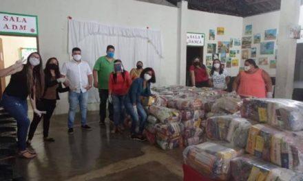 AÇÃO SOLIDÁRIA: Prefeitura de Ouro Velho realiza entrega de 250 cestas básicas