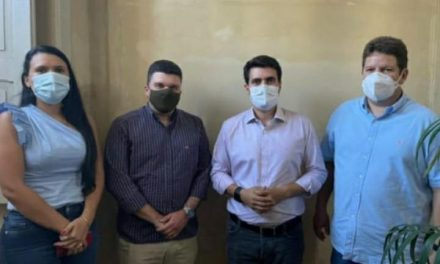 INVESTIMENTO EM PAUTA: Grupo liderado pelo prefeito de Ouro Velho realiza visita administrativa ao deputado estadual Wilson Filho