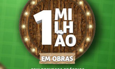 Em apenas 06 meses de gestão, prefeito Augusto Valadares lança pacote de obras que somam 1 milhão de reais