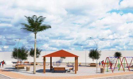 Prefeito de Ouro Velho autoriza abertura de processo licitatório para reforma da praça Cabo João
