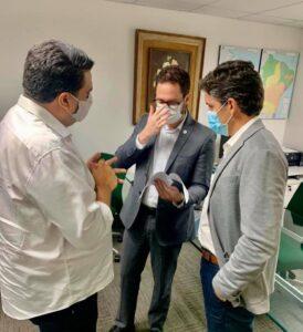 Vice-prefeito de Ouro Velho participa de reunião na sede da SUDENE em Recife e busca investimentos para o município
