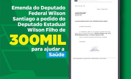 Prefeitura de Ouro Velho anuncia emenda destinada pelo deputado Wilson Santiago