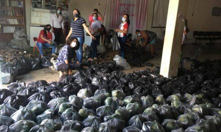 Prefeitura de Ouro Velho em parceria com o Governo da Paraíba realiza entrega de produtos de hortifruti para a população