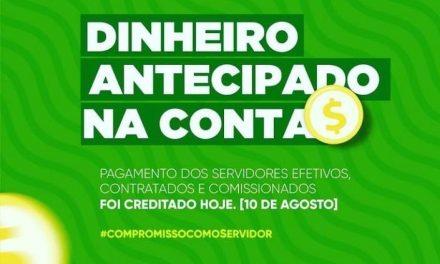DINHEIRO NA CONTA: Prefeitura de Ouro Velho anuncia pagamento dos servidores referente ao mês de agosto
