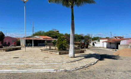 RECURSOS PRÓPRIOS: Prefeitura de Ouro Velho autoriza reforma da praça Cabo João