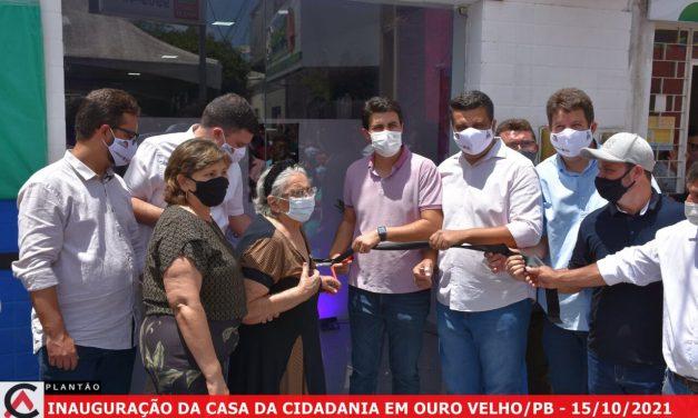 Governo do Estado e Prefeitura inauguram Casa da Cidadania no município